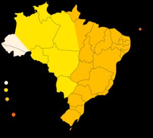 Mappa dei Fusi Orari Brasiliani