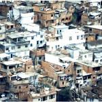 Una Favela nella città di Rio de Janeiro